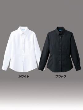 ARB-BC6920 ボタンダウンシャツ(レディス・長袖) カラー一覧