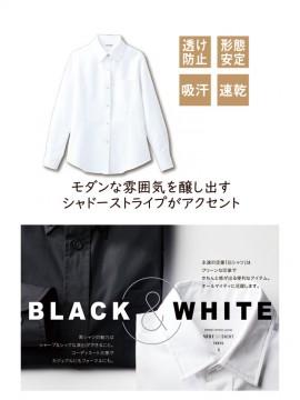 ARB-BC6920 ボタンダウンシャツ(レディス・長袖) 特長