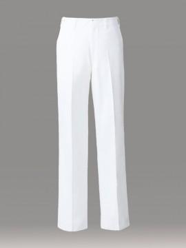 ARB-CA420 ズボン(メンズ・ノータック) 拡大画像・ホワイト