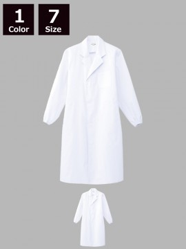 ARB-CA6642 ホワイトコート(メンズ・長袖)