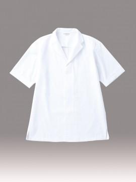 ARB-DN6854 白衣(男女兼用・半袖) 白