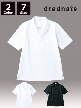 ARB-DN6854 白衣(男女兼用・半袖)