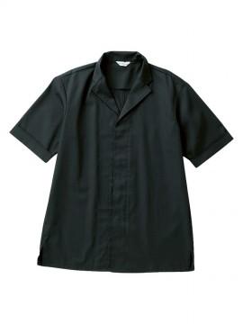 ARB-DN6854 白衣(男女兼用・半袖) 黒