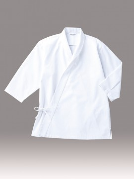 ARB-DN6855 ジンベイ(男女兼用・七分袖) 白