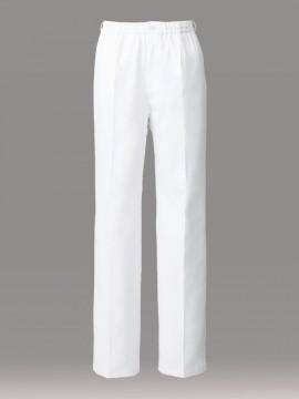 ARB-DN6861 イージーパンツ(男女兼用) 拡大画像・ホワイト