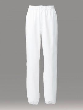 ARB-DN6862 イージーパンツ(男女兼用) 拡大画像・白