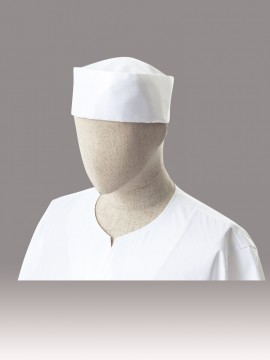 ARB-DN6864 和帽子(男女兼用) 拡大画像・白