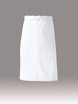 ARB-DN6865 エプロン(男女兼用) ホワイト