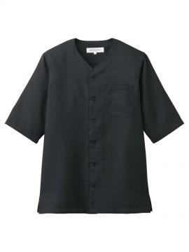 ARB-DN7735 ダボシャツ(男女兼用) ブラック