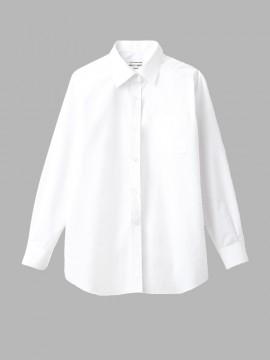 ARB-EP6851 シャツ(レディス・長袖) ホワイト