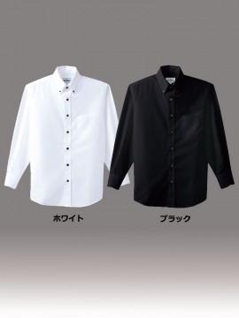 ARB-EP7616 ボタンダウンシャツ(男女兼用・長袖) カラー一覧