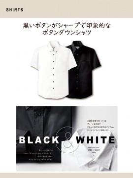 ARB-EP7617 ボタンダウンシャツ(男女兼用・半袖) トップス 特長