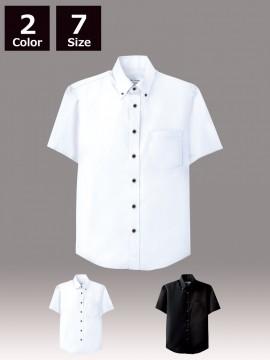 ARB-EP7617 ボタンダウンシャツ(男女兼用・半袖) トップス