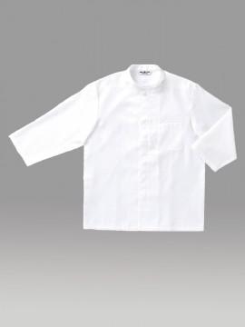 ARB-G7741 和風シャツ(男女兼用・七分袖) 拡大画像