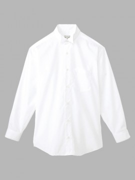 ARB-KM4038 ウイングカラーシャツ(メンズ・長袖) 拡大画像