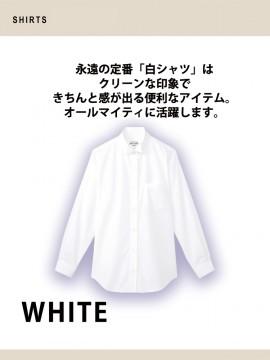 ARB-KM4039 ウイングカラーシャツ(レディス・長袖) 機能2