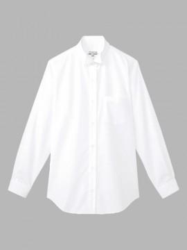 ARB-KM4039 ウイングカラーシャツ(レディス・長袖) 拡大画像