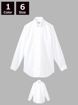ARB-KM4091 ピンタックウイングカラーシャツ(レディス・長袖)