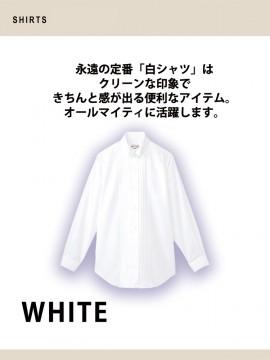 ARB-KM4091 ピンタックウイングカラーシャツ(レディス・長袖) 機能2