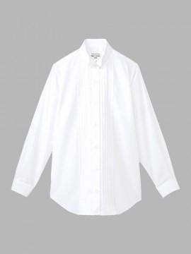 ARB-KM4091 ピンタックウイングカラーシャツ(レディス・長袖) 拡大画像