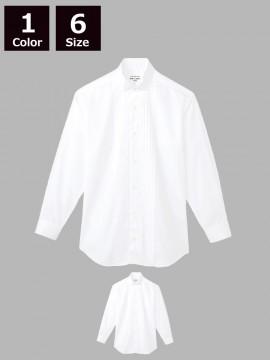 ARB-KM4092 ピンタックウイングカラーシャツ(メンズ・長袖)