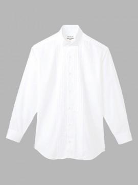ARB-KM4092 ピンタックウイングカラーシャツ(メンズ・長袖) 拡大画像