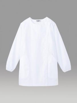 ARB-SR1304 白衣(レディス・長袖) 拡大画像