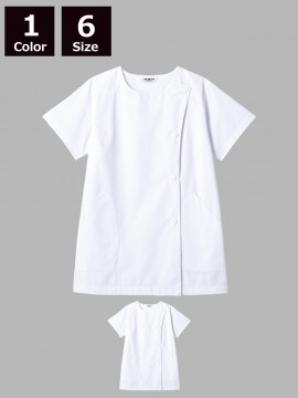 SR-2304 白衣(レディス・半袖)