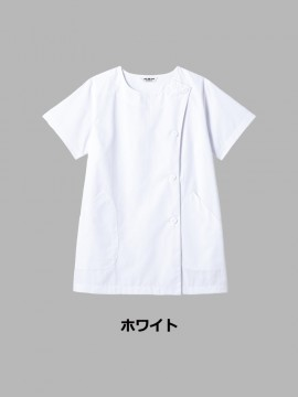 SR-2304 白衣(レディス・半袖) カラー一覧