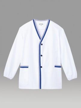 ARB-1338 白衣(メンズ・長袖) 拡大画像
