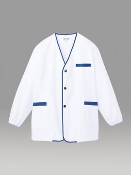 ARB-1590 白衣(メンズ・長袖) 拡大画像