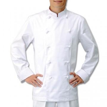 CL-100 コックコート 男女兼用 長袖 ホワイト