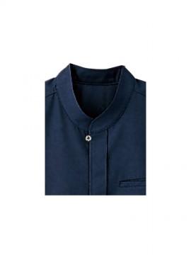 BS-08931 エスニックシャツ(男女兼用) 襟