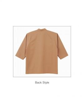 BS-08931 エスニックシャツ(男女兼用) 背面