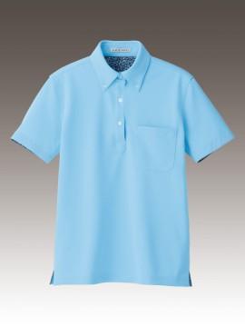 FB4018L レディス吸水速乾ポロシャツ(花柄A) 拡大画像