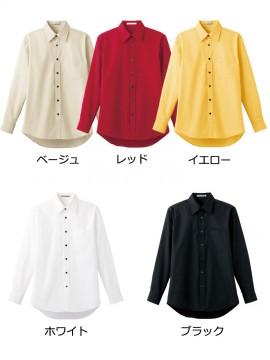 BM-FB4526U ブロードレギュラーカラー長袖シャツ カラー一覧