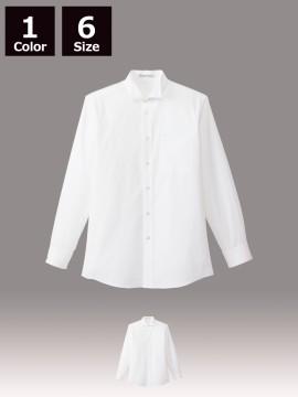 BM-FB5032M メンズウイングカラー長袖シャツ