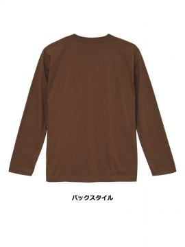 CB-5010 5.6オンス ロングスリーブ Tシャツ バックスタイル