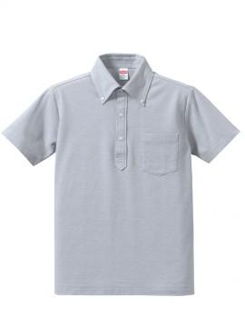 5.3オンス ドライカノコ ユーティリティー ポロシャツ(ボタンダウン)(ポケット付) 拡大画像