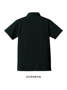 5.3オンス ドライカノコ ユーティリティー ポロシャツ(ボタンダウン)バックスタイル