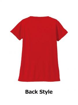 CB-5088-04 4.7オンス ドライシルキータッチ Xライン Tシャツ(ローブリード) バック