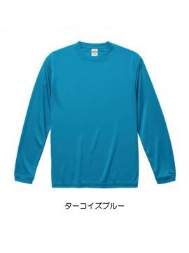 4.7オンス ドライシルキータッチ ロングスリーブ Tシャツ(ローブリード) 拡大画像