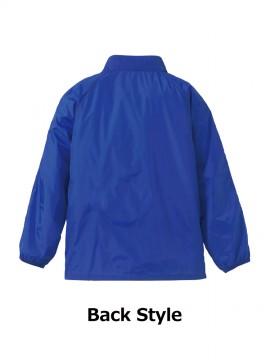 CB-7056 ナイロン スタンド ジャケット(フードイン)(裏地付) バックスタイル