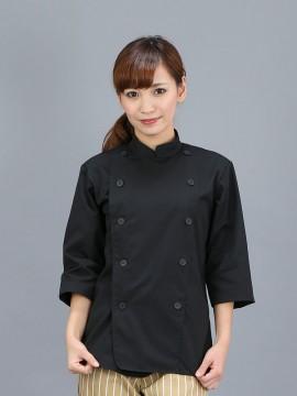 CR-CK5 ブラックコックコート七分袖 トップス