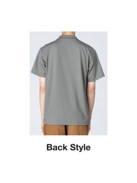 WE-00330-AVP 4.4oz ドライポロシャツ(ポケット付) バックスタイル