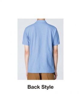 WE-00223-SDP 5.3オンス スタンダードポロシャツ バックスタイル