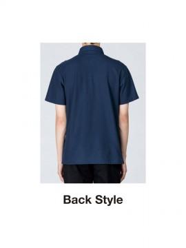 WE-00224-SBN 5.3oz スタンダードB / Dポロシャツ バックスタイル