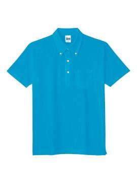 WE-00225-SBP 5.3oz スタンダードB / Dポロシャツ(ポケット付) 拡大画像