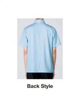 4.4oz ドライボタンダウンポロシャツ(ポケット付)