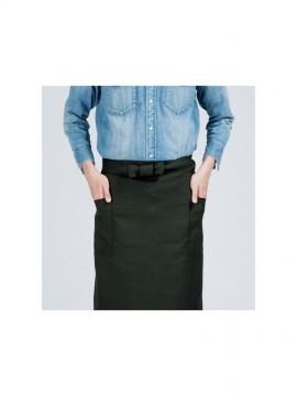 00879-PSA ポリソムリエエプロン ポケット付き